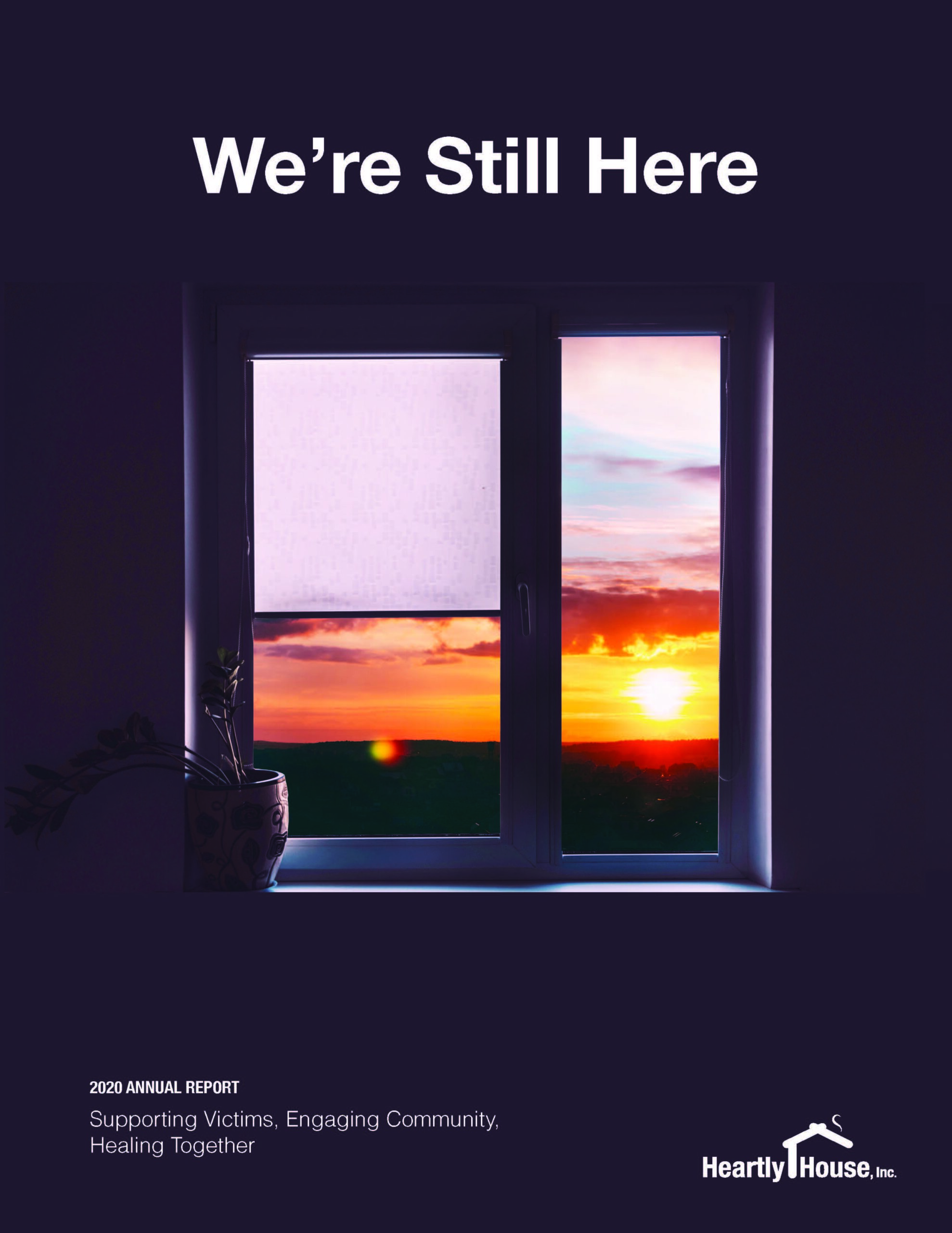 We're Still Here 2020 Annual Report